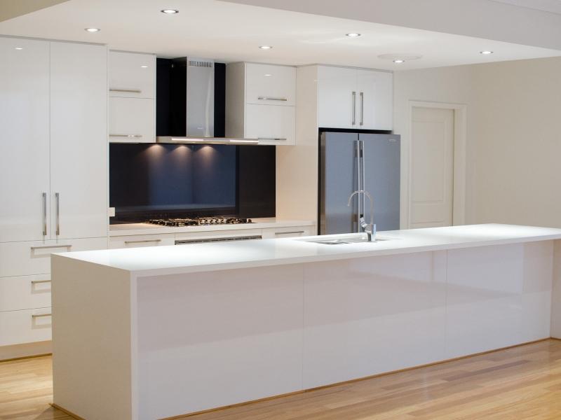 Kitchen - white tops